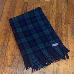 Pendleton stadium throw fringe blanket vintage
